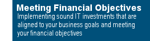 Meeting Financial Objectives